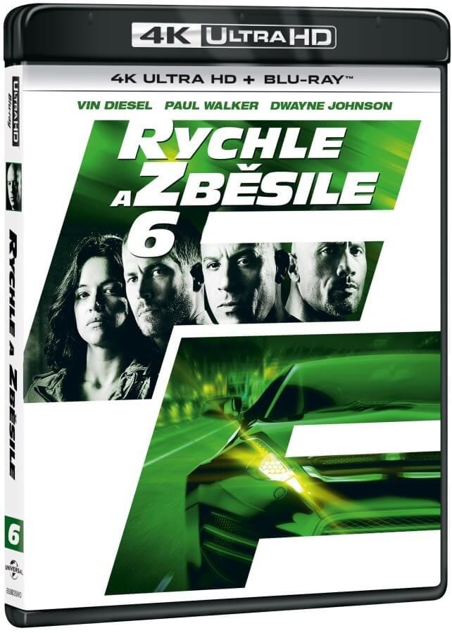Rychle a zběsile 6 (4K ULTRA HD+BLU-RAY) (2 BLU-RAY) - 2 verze filmu