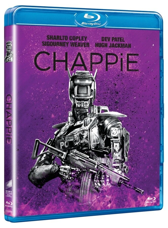 Chappie (2BLU-RAY) - edice BIG FACE