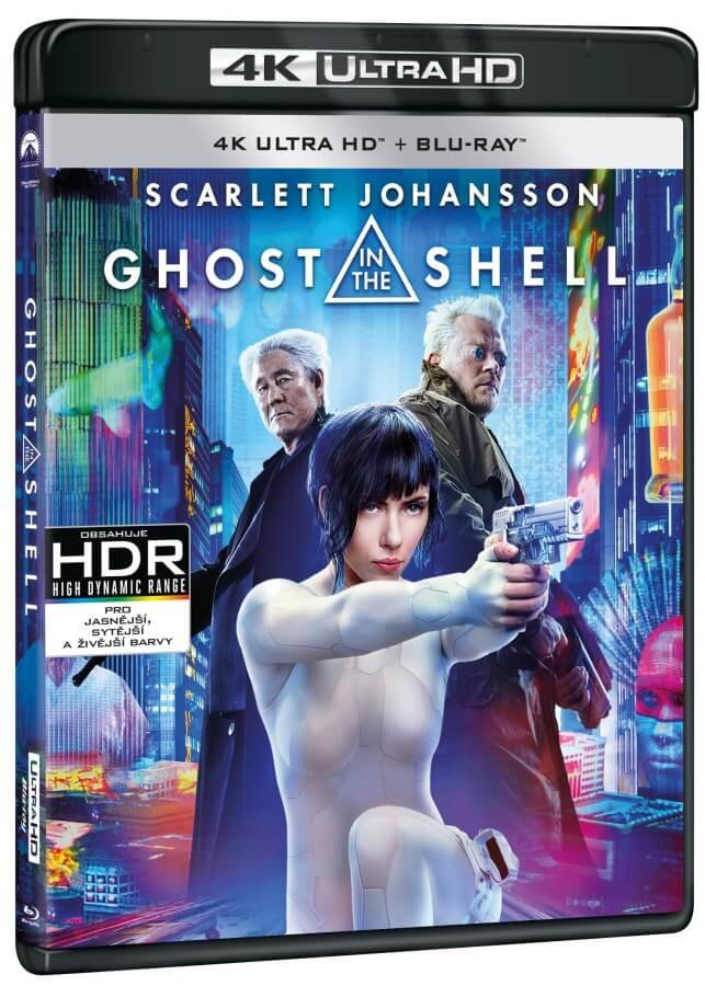 Ghost in the Shell (4K ULTRA HD+BLU-RAY) (2 BLU-RAY)