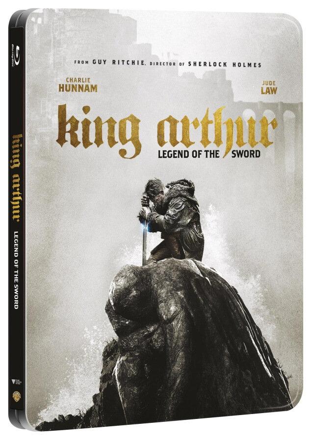 Král Artuš: Legenda o meči (2D+3D) (2BLU-RAY) - STEELBOOK
