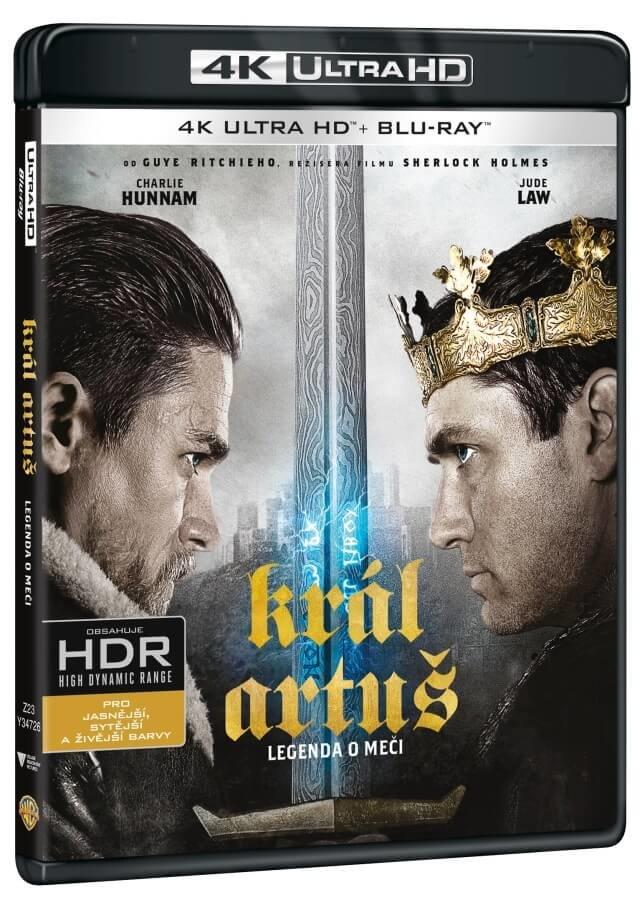 Král Artuš: Legenda o meči (UHD+BLU-RAY) (2BLU-RAY)