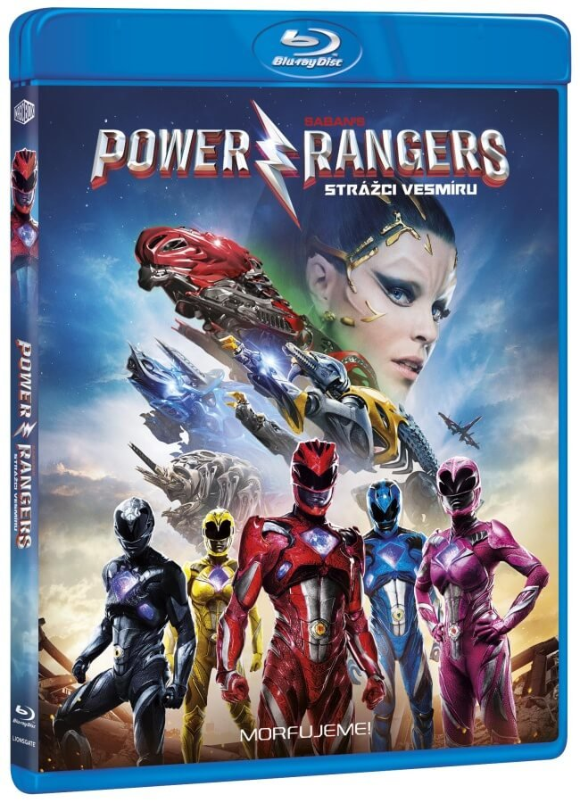 Power Rangers: Strážci vesmíru (BLU-RAY)