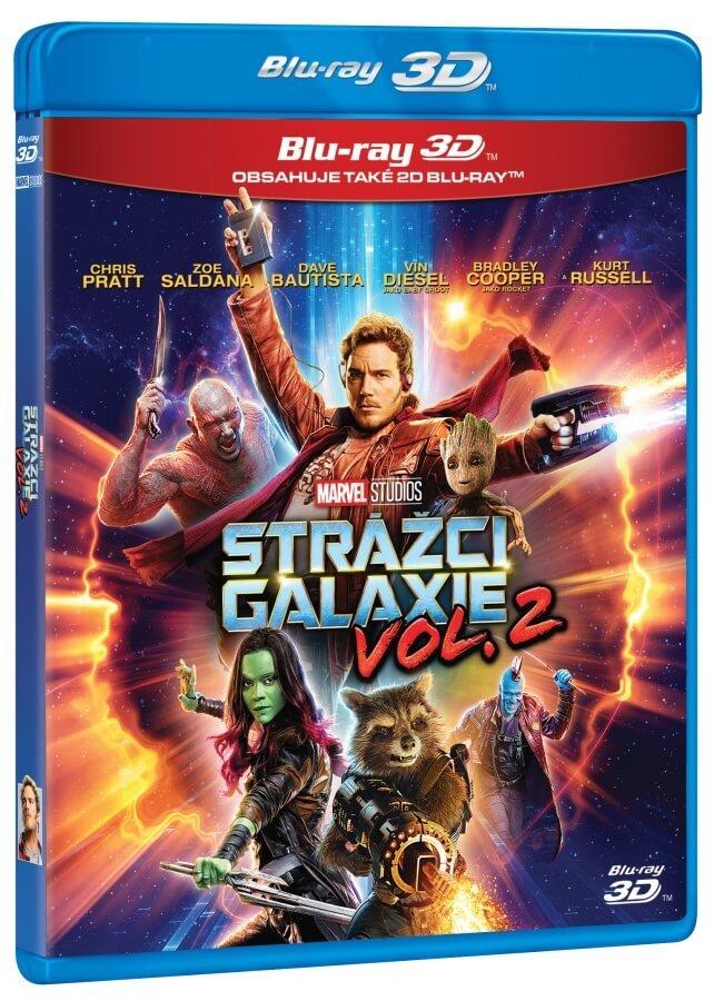 Strážci Galaxie 2 (2D+3D) (2BLU-RAY)