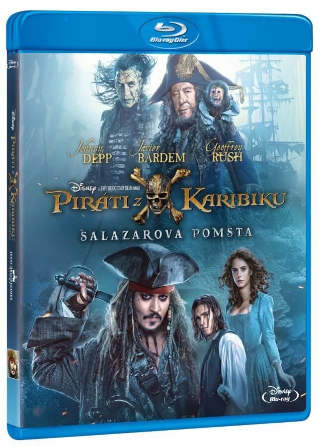 Piráti z Karibiku 5: Salazarova pomsta (BLU-RAY)