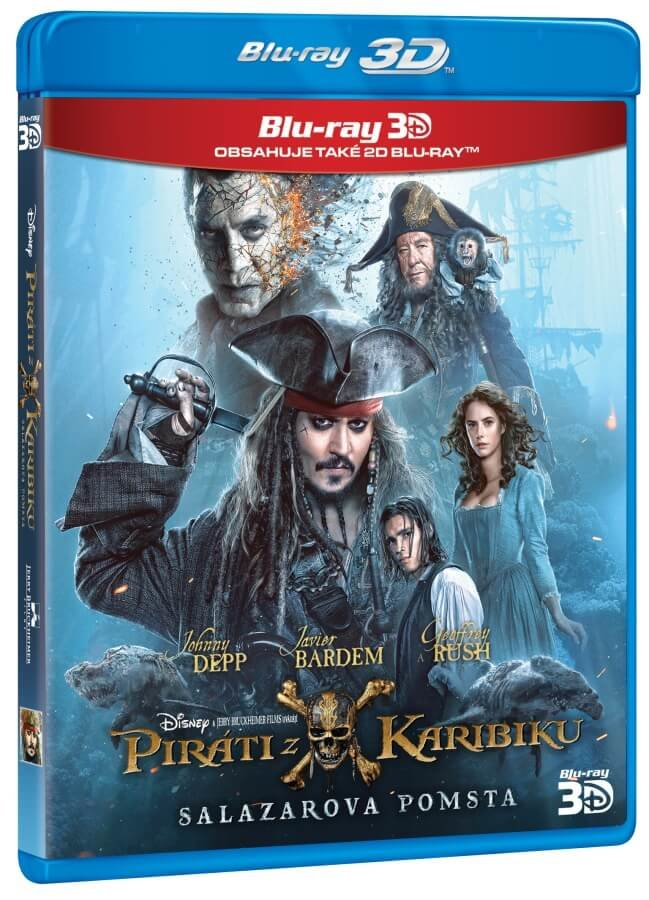 Piráti z Karibiku 5: Salazarova pomsta (2D+3D) (2BLU-RAY)