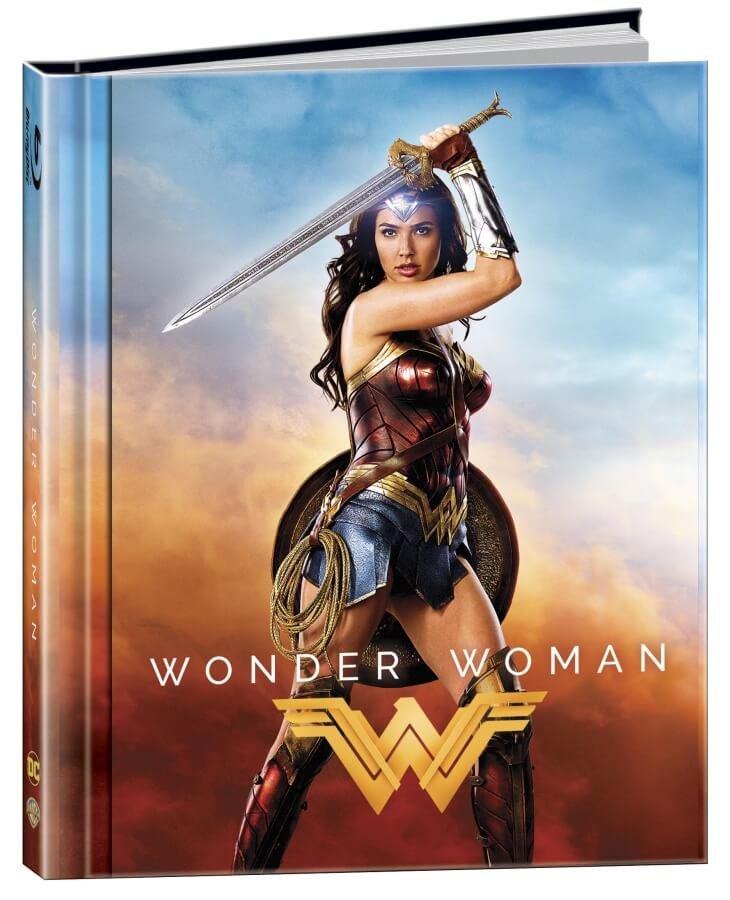 Wonder Woman (2D+3D) (2 BLU-RAY) - DIGIBOOK