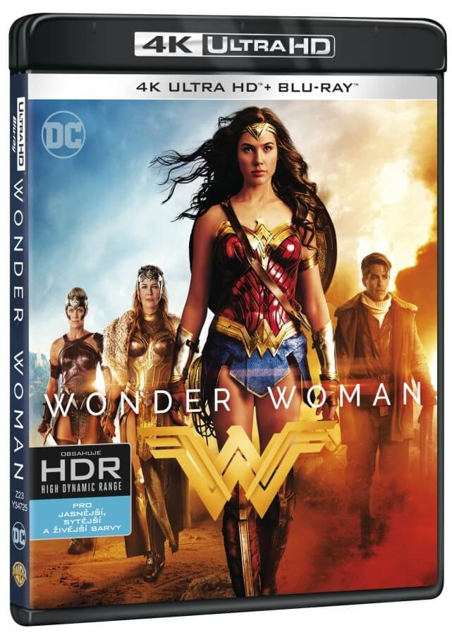 Wonder Woman (4K ULTRA HD+BLU-RAY) (2 BLU-RAY)