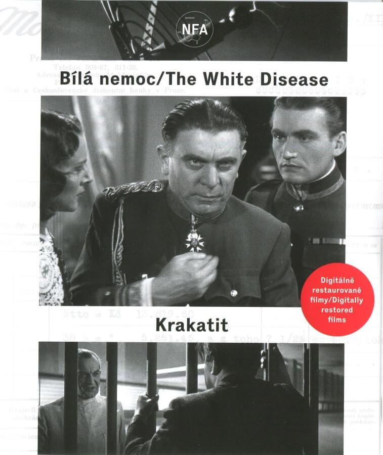 Krakatit / Bílá Nemoc (2BLU-RAY) - digitálně restaurovaný film
