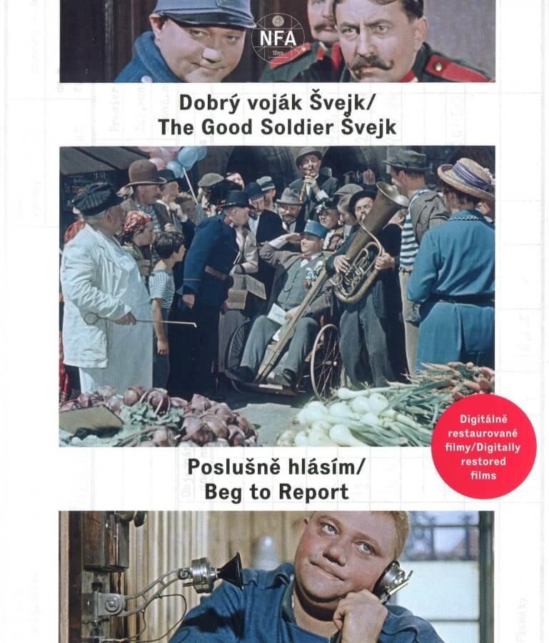 Dobrý voják Švejk / Poslušně hlásím (2BLU-RAY) - digitálně restaurovaný film
