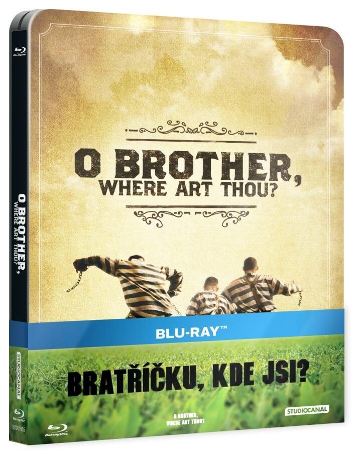 Bratříčku, kde jsi (BLU-RAY) - STEELBOOK