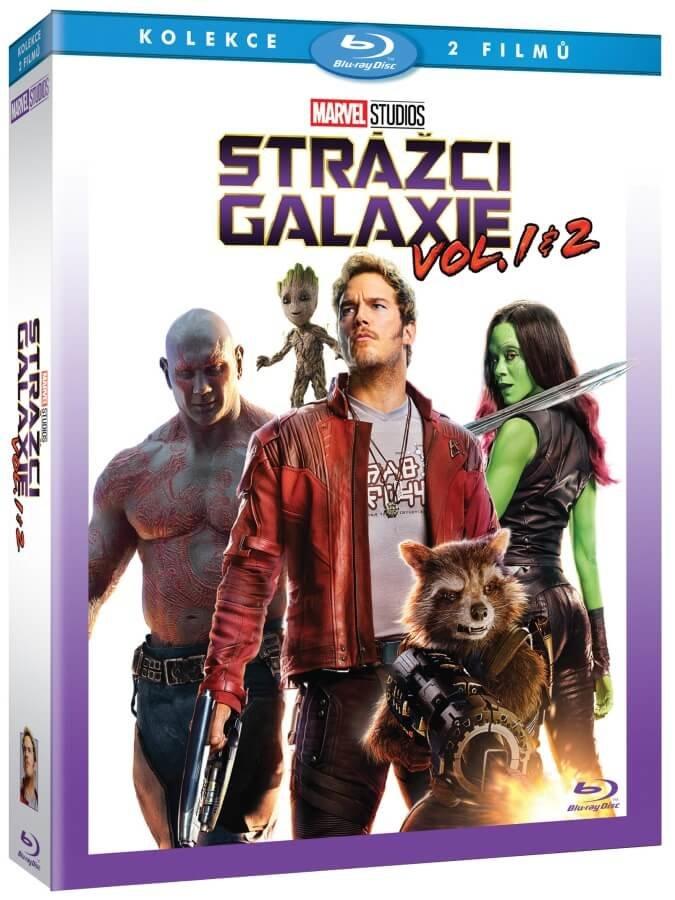 Strážci Galaxie kolekce 1-2 (2 BLU-RAY)