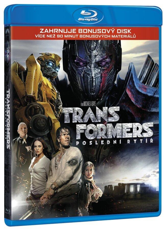 Transformers 5: Poslední rytíř (2 BLU-RAY)
