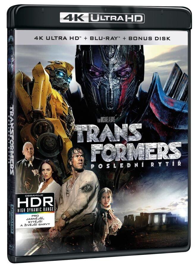 Transformers 5: Poslední rytíř (UHD+BD+BD BONUS) (3 BLU-RAY)