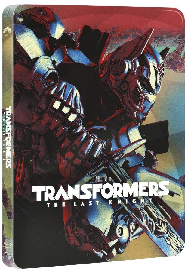 Transformers 5: Poslední rytíř (2D+3D+BD BONUS) (3 BLU-RAY) - STEELBOOK