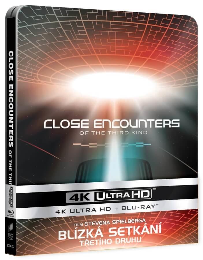 Blízká setkání třetího druhu (UHD+BLU-RAY) (2 BLU-RAY) - STEELBOOK - 3 verze filmu