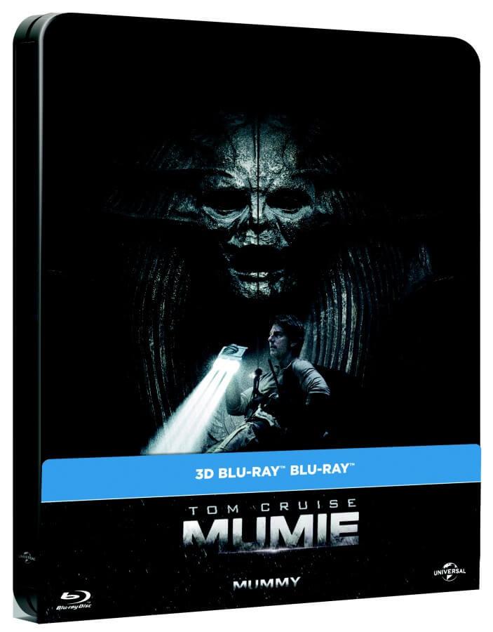Mumie (2017) (2D+3D) (2 BLU-RAY) - STEELBOOK