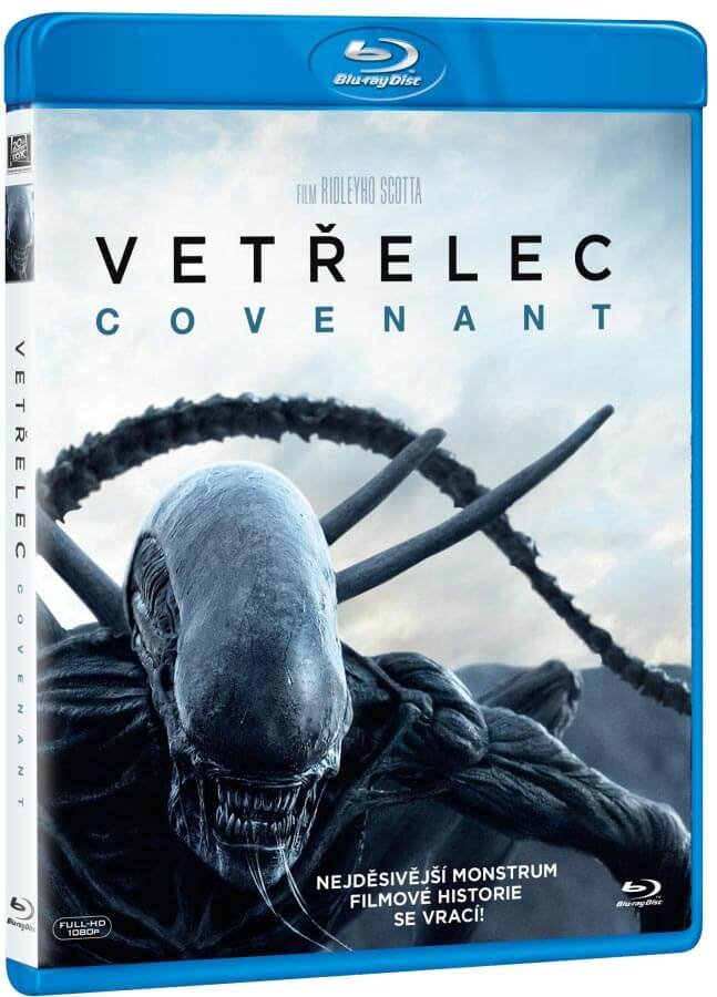 Vetřelec: Covenant (BLU-RAY)