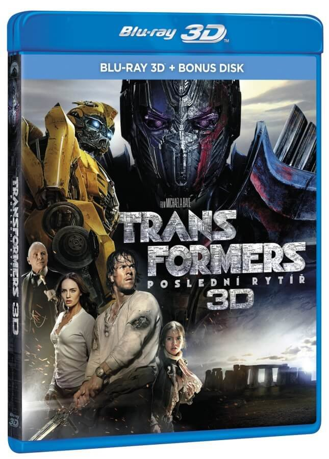 Transformers 5: Poslední rytíř (3D+BD BONUS) (2 BLU-RAY)