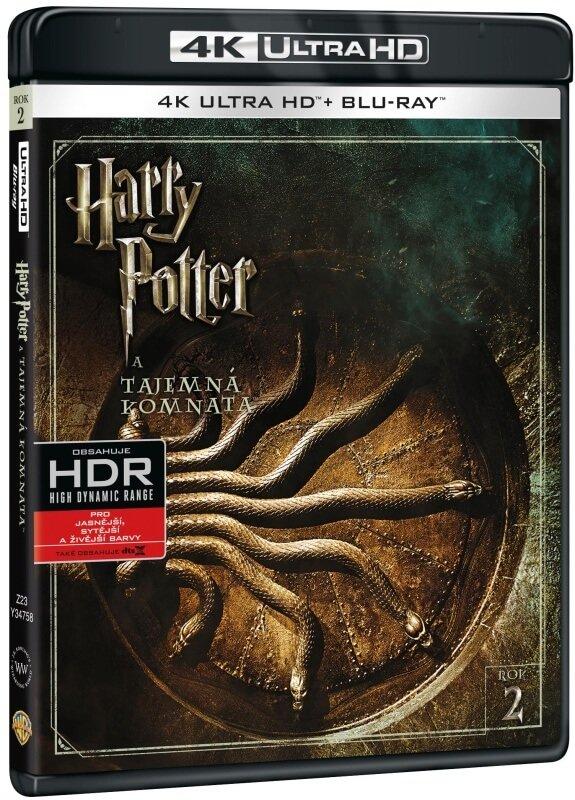Harry Potter a tajemná komnata (UHD+BLU-RAY) (2BLU-RAY)