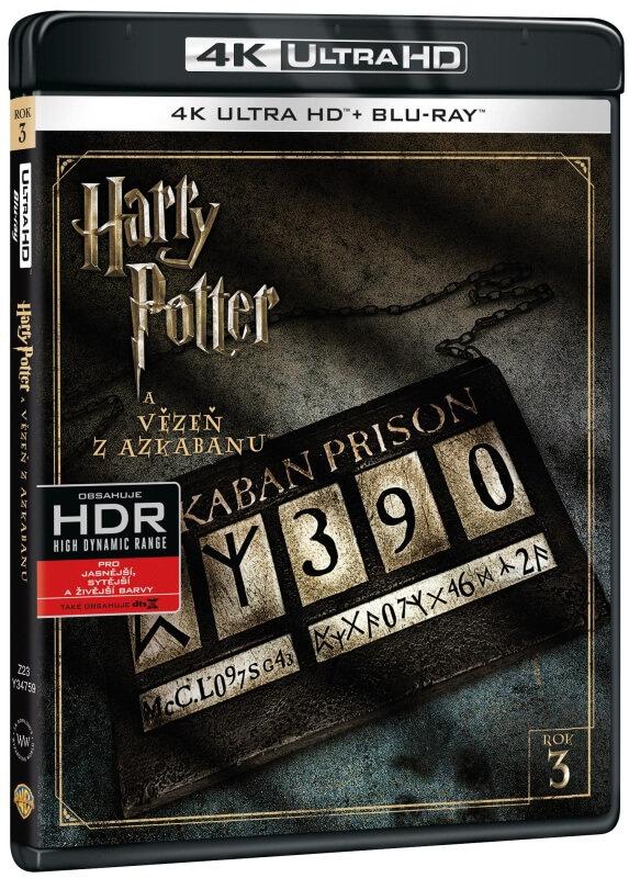 Harry Potter a vězeň z Azkabanu (UHD+BLU-RAY) (2BLU-RAY)