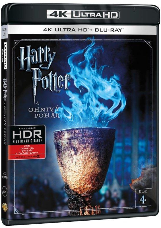 Harry Potter a ohnivý pohár (UHD+BLU-RAY) (2BLU-RAY)