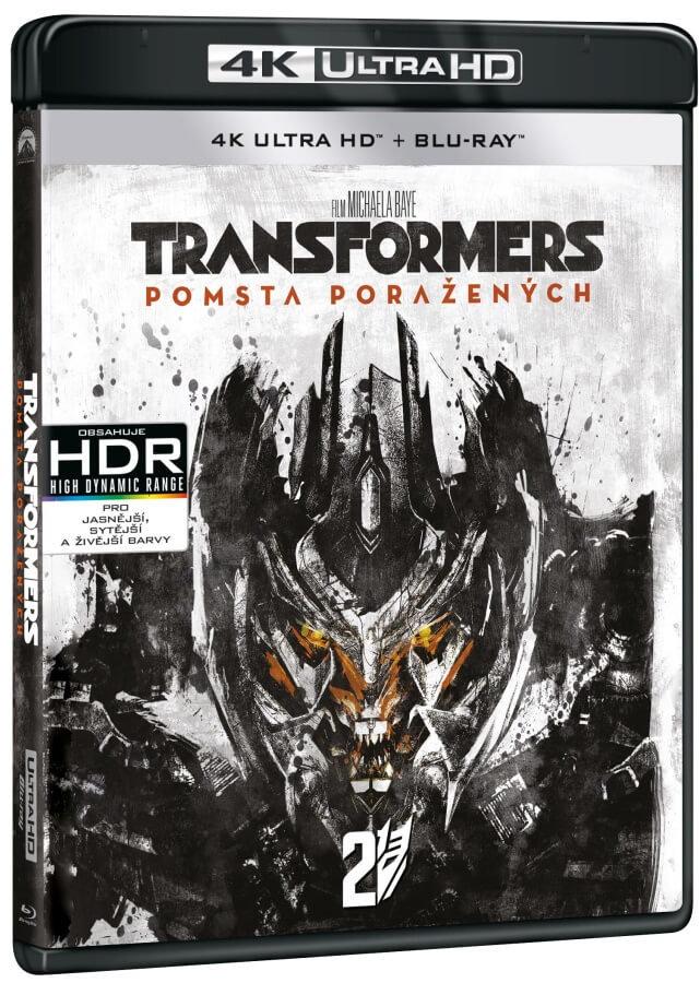 Transformers 2: Pomsta poražených (UHD+BLU-RAY) (2BLU-RAY)
