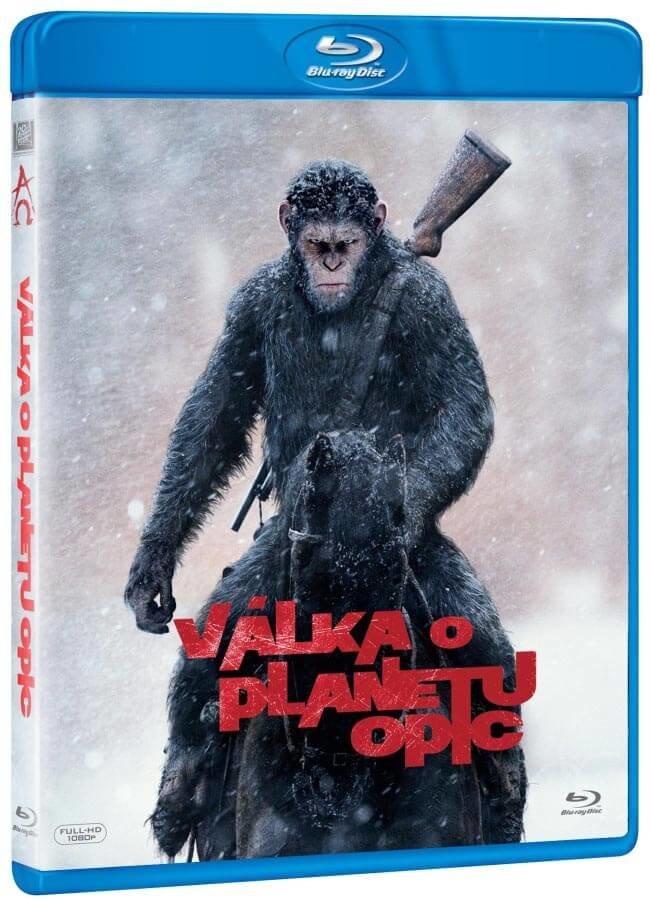 Válka o planetu opic (BLU-RAY)