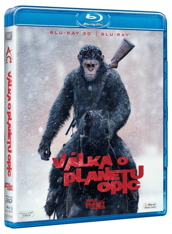 Válka o planetu opic (2D+3D) (2 BLU-RAY)