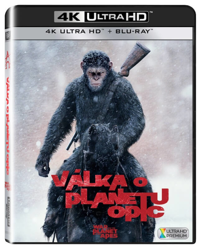 Válka o planetu opic (UHD+BLU-RAY) (2 BLU-RAY)