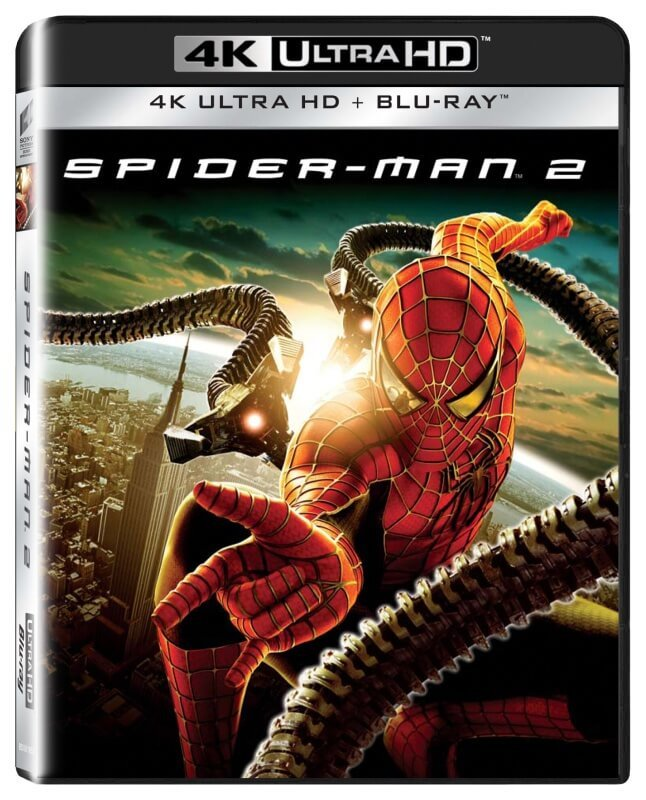 Spider-Man 2 (UHD+BD) (2 BLU-RAY)