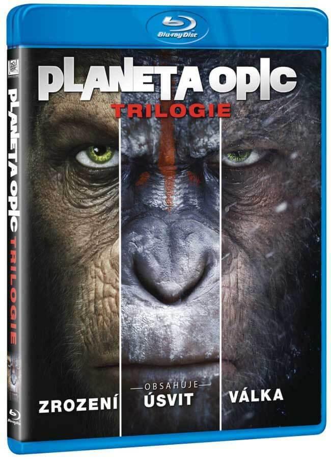 Planeta opic klolekce (3 BLU-RAY)