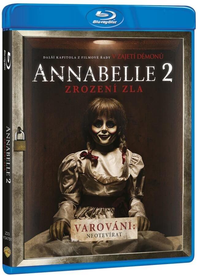 Annabelle 2: Zrození zla (BLU-RAY)