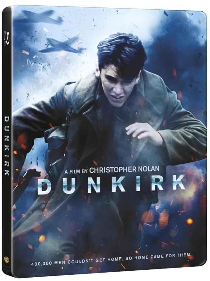 Dunkerk (BD+BONUS DISK) (2 BLU-RAY) - STEELBOOK