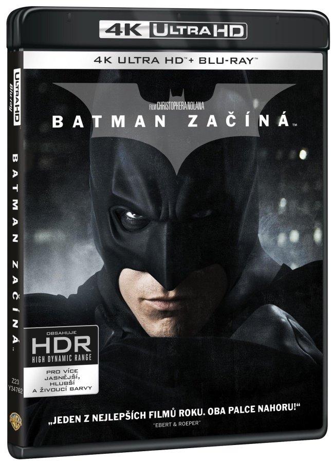 Batman začíná (UHD+BLU-RAY+BD BONUS) (3 BLU-RAY)