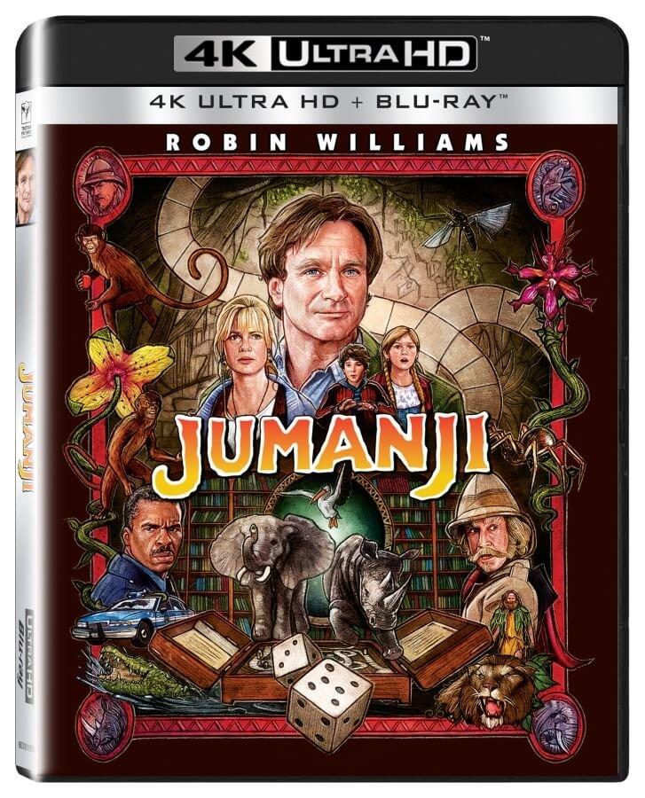 Jumanji (4K ULTRA HD+BLU-RAY) (2 BLU-RAY)