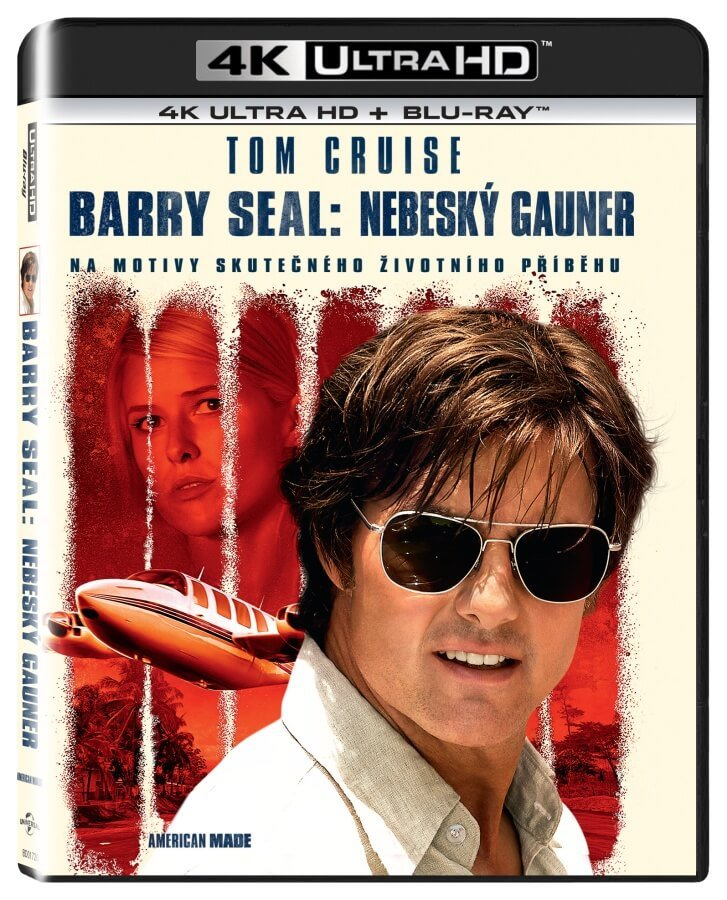 Barry Seal: Nebeský gauner (4K ULTRA HD+BLU-RAY) (2 BLU-RAY)