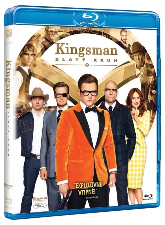 Kingsman 2: Zlatý kruh (BLU-RAY)