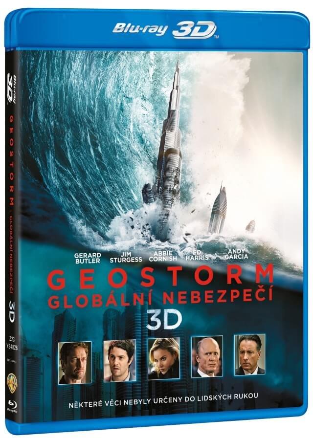 Geostorm: Globální nebezpečí (2D+3D) (2 BLU-RAY)