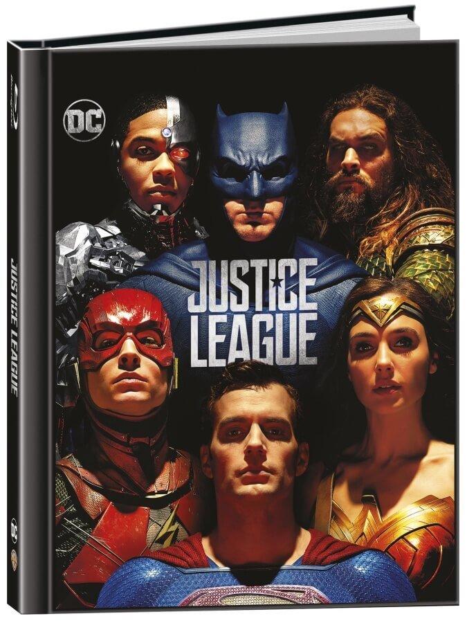 Liga spravedlnosti (3D+2D) (2 BLU-RAY) - DIGIBOOK