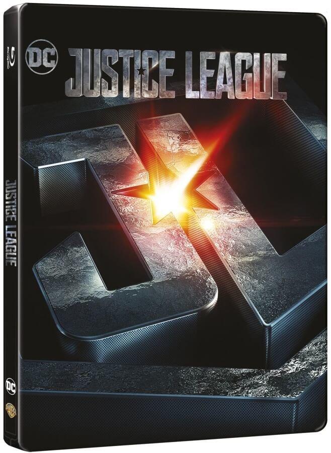 Liga spravedlnosti (3D+2D) (2 BLU-RAY) - STEELBOOK