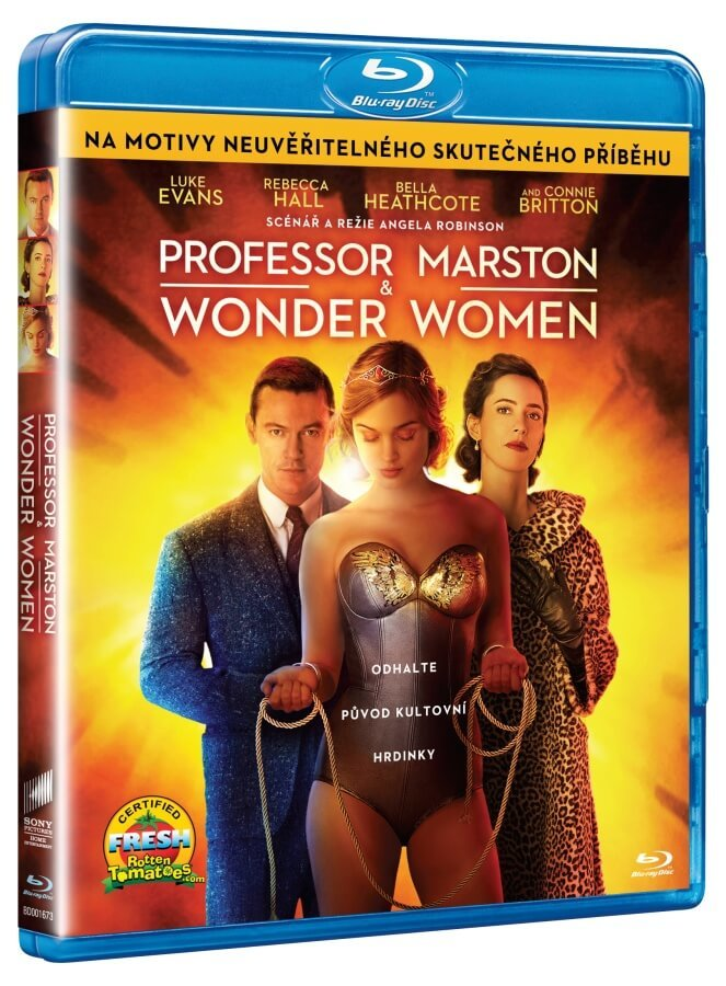 Professor Marston & the Wonder Women (BLU-RAY)