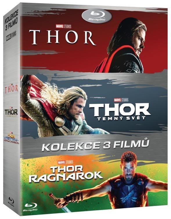 Thor kolekce (1-3) (3 BLU-RAY)