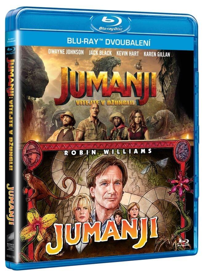Jumanji 1-2 kolekce (2 BLU-RAY)
