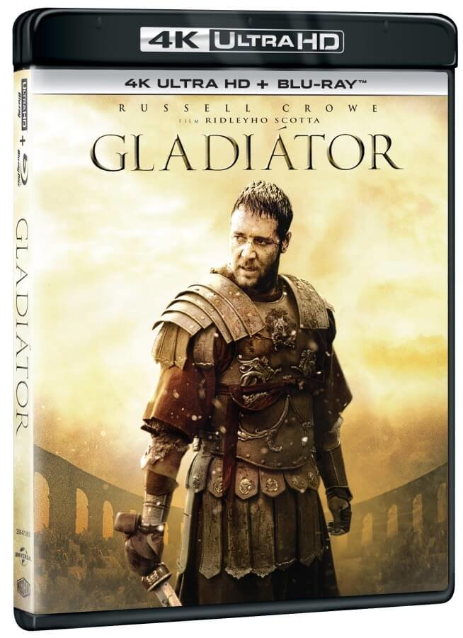 Gladiátor (4K ULTRA HD+BLU-RAY) - 2 verze filmu