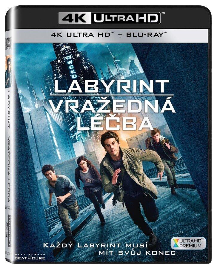 Labyrint: Vražedná léčba (4K ULTRA HD+BLU-RAY) (2 BLU-RAY)