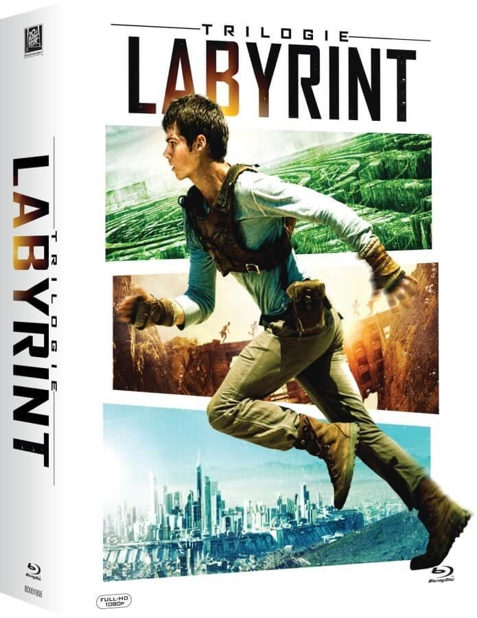Labyrint: Trilogie kolekce (3 BLU-RAY)