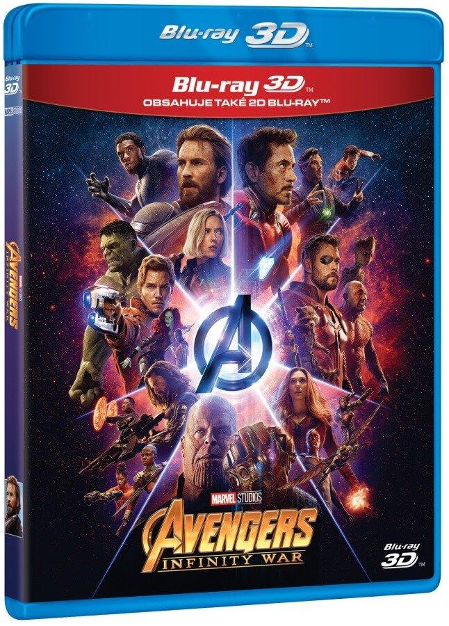 Avengers 3: Infinity War (2D+3D) (2 BLU-RAY)