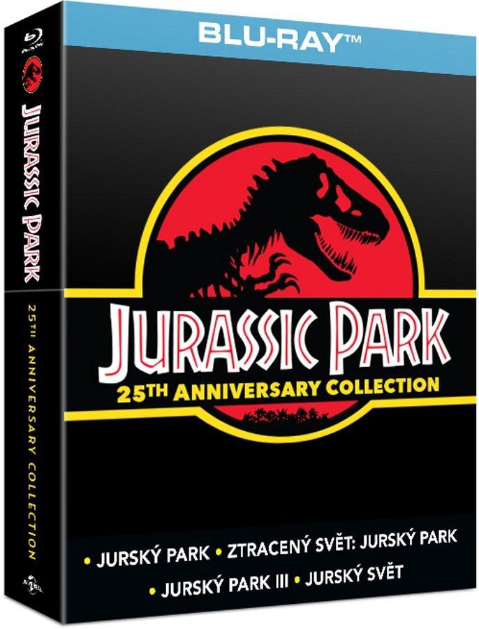 Jurský park kolekce 1-4 (4 BLU-RAY) - SOUNDBOX