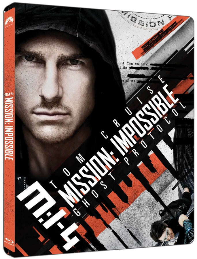 Mission: Impossible 4 - Ghost Protocol (UHD+BLU-RAY) (2 BLU-RAY) - STEELBOOK