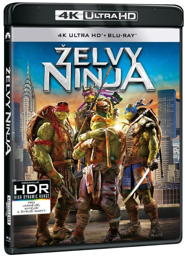 Želvy Ninja (2014) (4K ULTRA HD+BLU-RAY) (2 BLU-RAY)